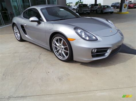 porsche cayman silver 2014 gt silver metallic porsche cayman 103438455 photo 8