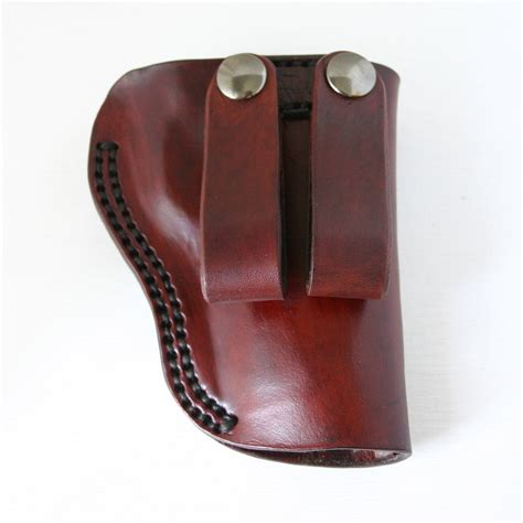 leather gun holster gun holster 1911 leather gun holster with site guides