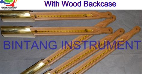 Thermometer Astm 081362449440 jual astm thermometer with wood backcase