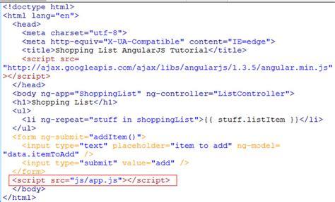 javascript tutorial script using angular module in a javascript file learn web