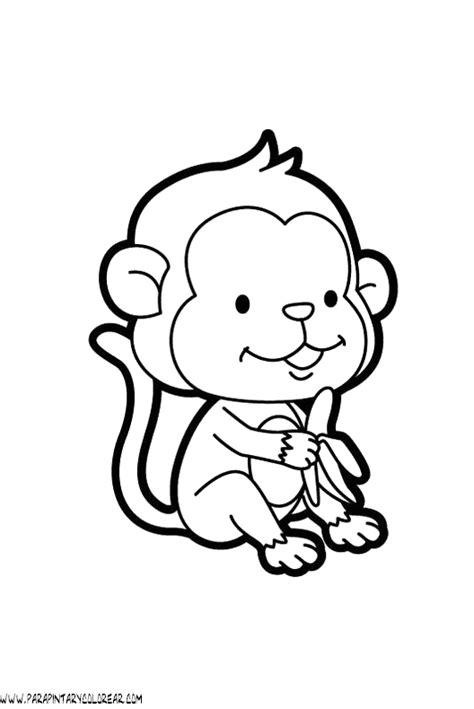 imagenes de monos faciles para dibujar dibujos de monos dibujos