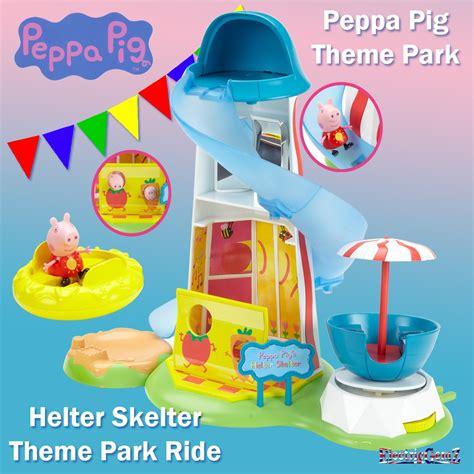 theme park peppa pig peppa pig theme park helter skelter