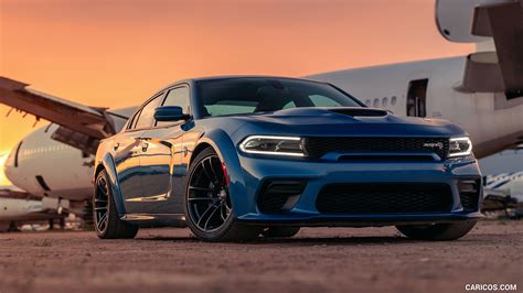 2020 Dodge Charger Srt by 2020 Dodge Charger Srt Hellcat Widebody Front Three