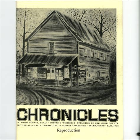 chronicles of volume 2 chronicles of smith county volume 4 issue 2