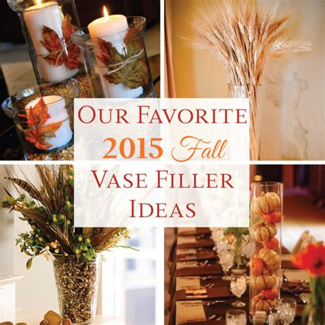 Handmade Filler Ideas - our favorite 2015 fall vase filler ideas linentablecloth