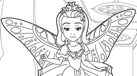 disney coloring pages princess sofia sofia the coloring pages and crafts disney junior