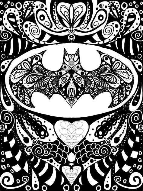 doodlebug batman batman doodles and zentangle batman