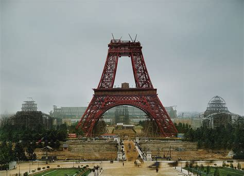 colorized historical photos 10 colorized photos of landmarks construction
