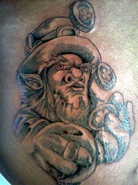 leprechaun tattoo leprechaun tattoos designs pictures page 4