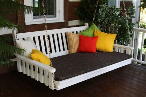 What Is A Swing Bed by Outdoor 5 Foot Traditional Swing Bed 8 Paint