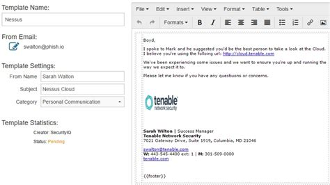 What Is Spear Phishing Phishing Awareness Email Template
