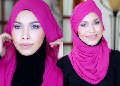 tutorial hijab paris ciput topi tutorial hijab terinspirasi topi pramugari emirates