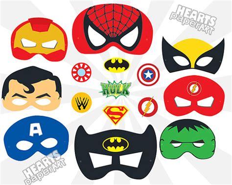 printable wolverine mask superhero masks printable cutout spiderman by heartspaperart