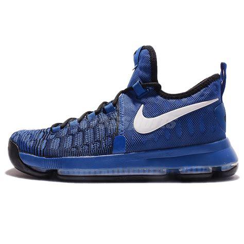 Nike Zoom Import nike zoom kd 9 ep ix kevin durant on court blue black basketball 844382 410 ebay