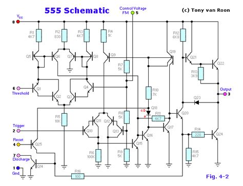 what is 555 integrated circuit the 555 timer