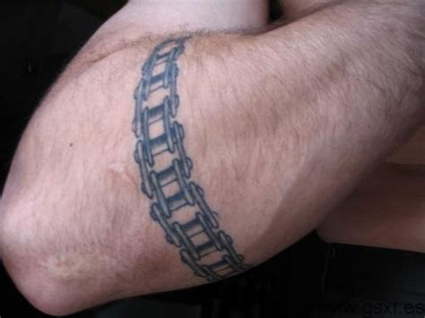 tattoo 3d moto tatuaje cadena transmision motos suzuki gsx r