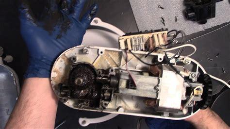 Repair Broken KitchenAid Mixer   Worm Gear and Grease