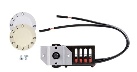 dimplex pole thermostat wiring dimplex built in single pole thermostat kit the home
