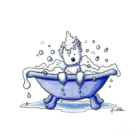 bathtub drawings muggles bubble bath drawing by kim niles
