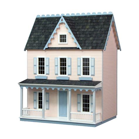 farmhouse kit vermont farmhouse jr dollhouse kit milled mdf real good