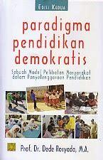 toko buku rahma paradigma pendidikan demokratis