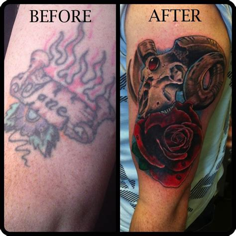 tattoo cover up designs before and after 19 best before after cover up designs name images