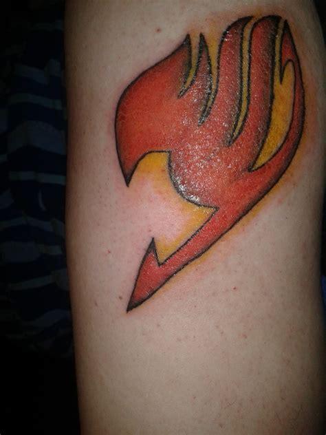 tattoo fairy tail logo my new fairy tail tattoo d by kouhei kun on deviantart