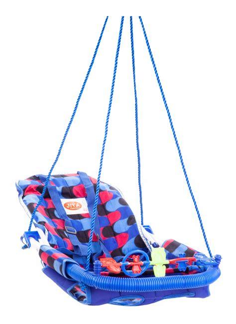 blue baby swing buy jiya baby swing velvet blue online in india