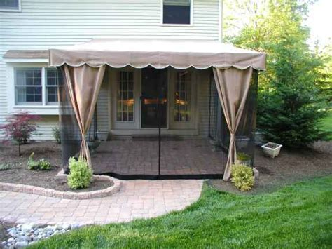 mosquito netting for retractable awnings how to screen a deck gallery 3 of 16