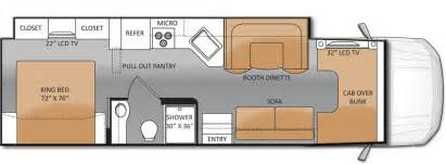 Class C Rv Floor Plans The 33sw Is The New C Rv Floor Plan From Thor Motor Coach C Motorhomes