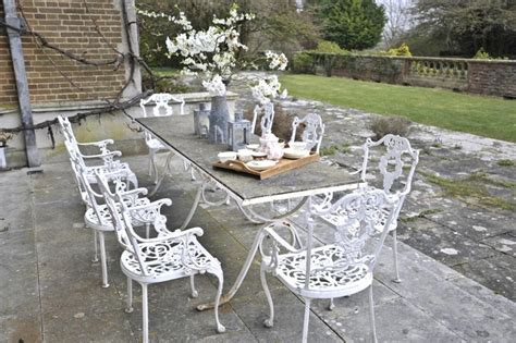 shabby chic patio furniture 17 best images about patio furniture on