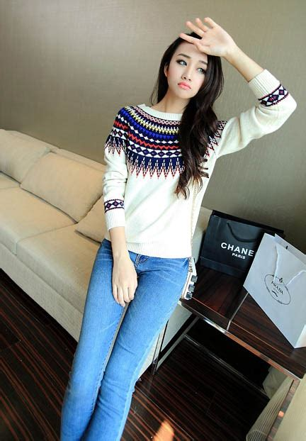Sweater Di Korea Sweater Wanita Korea Murah Sweater Vest
