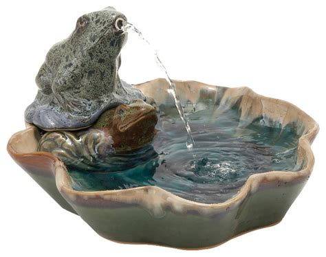 fountains for home decor modern classy d creative ceramic frog fountain home decor