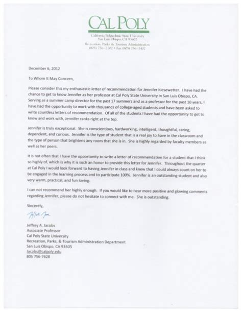 Kwara Poly Acceptance Letter Letter Of Recommendation