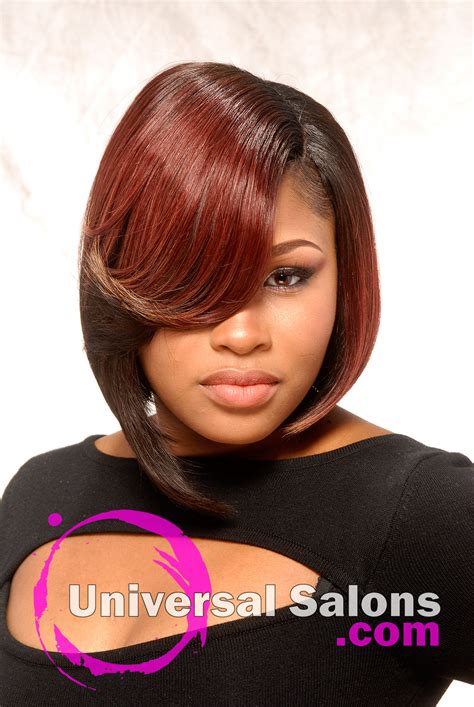 university studio black hair styles the working woman short bob hairstyle from steven michael