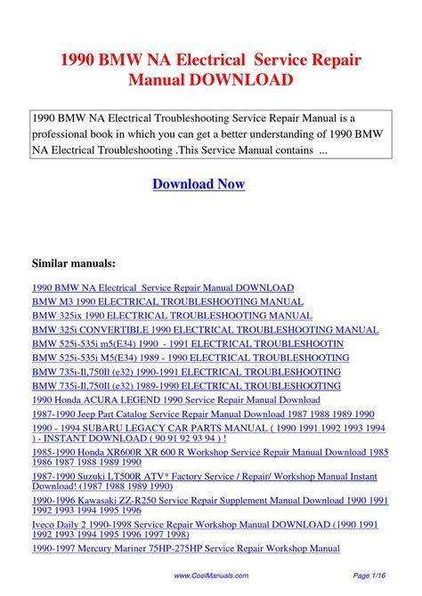 service repair manual free download 1987 subaru leone head up display 1990 bmw na electrical service repair manual by lan huang issuu
