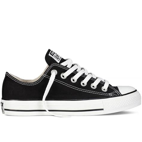 converse converse all ox black sc7 m9166 unisex