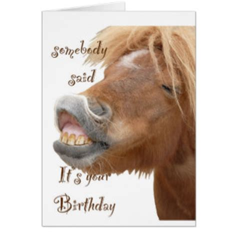 printable birthday cards with horses funny birthday quotes with horses quotesgram