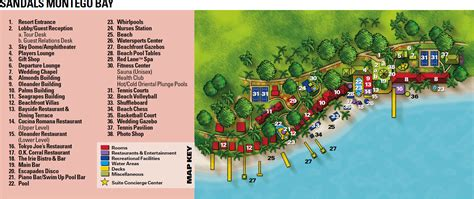 sandals montego bay map resort map sandals montego bay montego bay jamaica