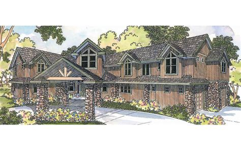 Cabin Style Home Plans Lodge Style House Plans Bentonville 30 275 Associated Designs