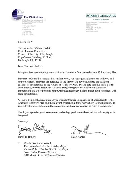 Invoice Amendment Letter act 47 coordinators letter to council and mayor peduto