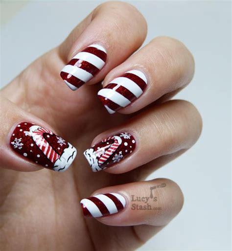 design nail art for christmas 50 christmas nail art ideas