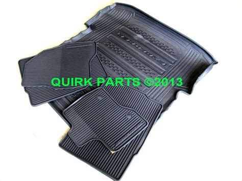 2014 Explorer Floor Mats by 2013 2014 Ford Explorer All Weather Protection Floor Mats