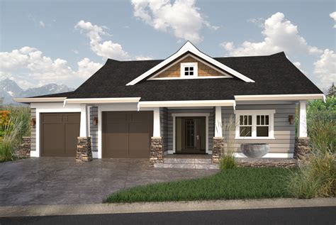walkout bungalow floor plans luxury home designs residential designer