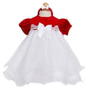 Rare editions baby girls christmas velvet organza dress baby