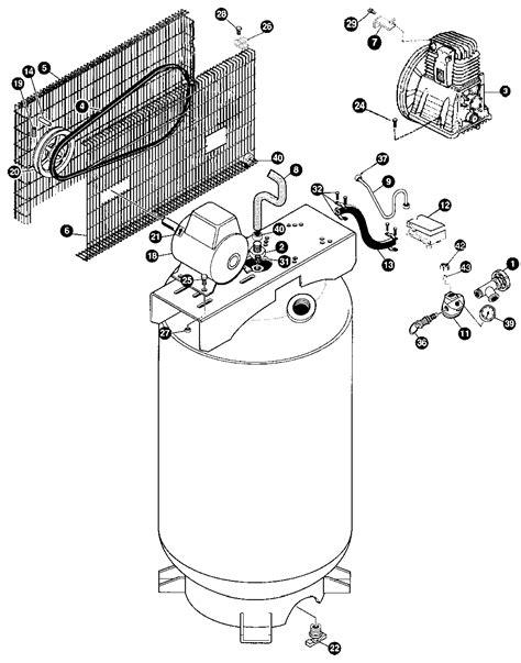devilbiss ir65k80v1d type 0 air compressor parts