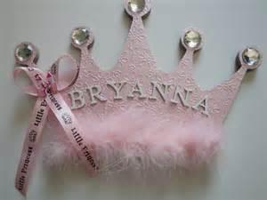 Princess Crown Wall Decor by Princess Crown Name Plaque Room Decor Name Sign