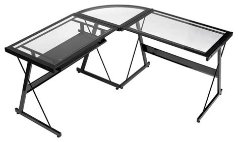z line corner desk legacy l desk modern desks and hutches by z line designs