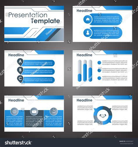 Business Presentation Template Setpowerpoint Template Design Stock Vector 620035967 Shutterstock Set Powerpoint Template