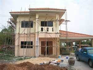 building a house building a house in thailand start to finish youtube